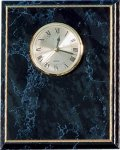 Black Marble Finish Clock Plack Wall Clock Plaques
